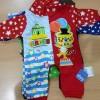 Baju Tidur Jumper/Kodok Bayi Panjang Karakter Circus