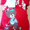 Baju Bayi Jumper/Baju Kodok 2 pcs Karakter Sailor Bear