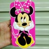 Case 3D Minnie Mouse Samsung Galaxy Core 2 Karakter/Sil Murah