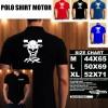 Polo Shirt Otomotif Motor SUZUKI FXR 150 SILUET TD/Kaos Kerah/Baju