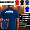 Polo Shirt Otomotif Mobil TOYOTA PRIUS HYBRID SILUET TS/Kaos Kerah