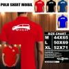 Polo Shirt Otomotif Mobil TOYOTA WISH SILUET TS/Kaos Kerah/Baju Kerah