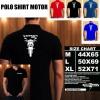 Polo Shirt Otomotif Motor HONDA VERZA 150 SILUET TD/Kaos Kerah/Baju