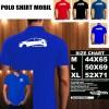 Polo Shirt Otomotif Mobil TOYOTA PRIUS SILUET TS/Kaos Kerah/Baju