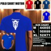 Polo Shirt Otomotif Motor SUZUKI HAYABUSA SILUET TD/Kaos Kerah/Baju