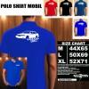 Polo Shirt Otomotif Mobil VOLVO 960 SILUET TS/Kaos Kerah/Baju Kerah