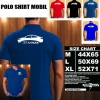 Polo Shirt Otomotif Mobil TOYOTA ALL NEW VIOS SILUET TS/Kaos Kerah