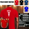 Polo Shirt Otomotif Motor HONDA TIGER REVO SILUET TD/Kaos Kerah/Baju