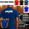 Polo Shirt Otomotif Mobil TOYOTA LEXUS GX SILUET TS/Kaos Kerah/Baju