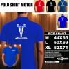 Polo Shirt Otomotif Motor HONDA ASTREA LEGENDA SILUET TD/Kaos Kerah