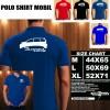 Polo Shirt Otomotif Mobil TOYOTA AVANZA VELOZ SILUET TS/Kaos Kerah