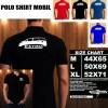 Polo Shirt Otomotif Mobil TOYOTA ESTIMA SILUET TS/Kaos Kerah/Baju