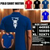 Polo Shirt Otomotif Motor HONDA VARIO 125 SILUET TD/Kaos Kerah/Baju