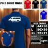 Polo Shirt Otomotif Mobil VOLKSWAGEN CRAFTER SILUET TS/Kaos Kerah/Baju