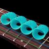 Pelindung Jari Silikon Untuk Memetik Senar Gitar 1 Set Isi 4pcs Z