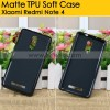 Matte TPU Soft Case Xiaomi Redmi Note 4