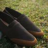 SEPATU REYL TONE 02 BROWN | REYL FOOTWEAR |SEPATU SLIP ON PRIA