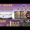 Memory Card V-Gen 16GB TURBO Series MMc mSD 85MBPS Class 10 ORIGINAL