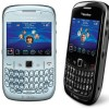 Blackberry 8520 Gemini - Black White - Garansi 1 Tahun Curve