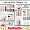 Softcase Chrome Oppo F1s Original Product Ume