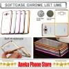 Softcase Chrome iPhone 7 4.7 inch Original Product Ume