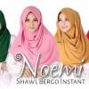Nuhijab Shawl Bergo Instant Noemi