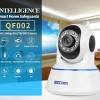 Wireless IP Camera ESCAM QF002 CMOS 720P  MicroSD P2P Android & iOS