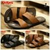 PROMO !!! Kickers Sandal Round Concept Pria ( Kukit Asli )