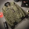 Jaket Bomber Military Green