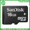 SanDisk microSDHC Memory Cards Class 4 16GB - Micro SD