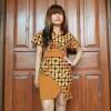 Dress Batik Cap Mix Balotelly