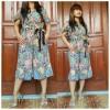 Jumpsuit Batik Butterfly