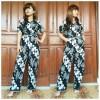 Jumpsuit Batik Parang