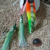 metal jig ascalon rainbow 100gr+hook...full fosfor