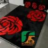 Karpet Karakter Bunga Mawar, Karpet Bulu Rasfur