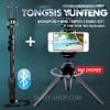 Tongsis Tomsis Bluetooth Yunteng YT-1288 + Mini Tripod High Quality