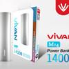 power bank vivan m14 original 100% 14000 mah