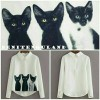 Blouse cat (yt)