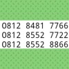 Nomor Cantik Simpati Double AA Perdana rapih 7766 7722 8866$IN_86