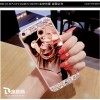 Softcase TPU Diamond Ring Stand Soft Case Cover Samsung Galaxy A5 2017