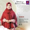 Kerudung Bergo Nibras Hijab Spinelli Bergo Pad