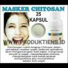 Masker Chitosan Tiens 25 Kapsul | Wajah Bebas Berminyak Dan Kencang