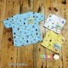 Baby Aruchi Oblong Pendek Motif Animal Colour M