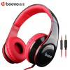 [BEEVO] HiFi Super Bass Headphone Dengan Mic - BV-HM740 - Black