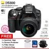 Nikon D5300 + AFP 18-55 + Filter55mm + ScreenGuard + SanDisk16gb + Bag