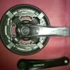 crank shimano TY501