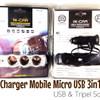 Car Charger Mobile Saver USB dan Triple Socket ( 3 LUBANG SAVER )
