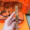 Hermes Brown Mini CDC Epsom Leather Bracelet