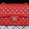 Chanel Classic Lambskin Double Flap Bag