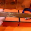 Hermes Barenia Kelly Double Tour Bracelet